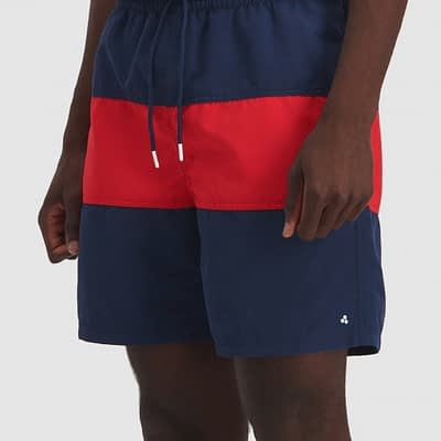LBA6_HUFFER_Men's_Two-Time_Staple_Trunkn_NavyRed_Side
