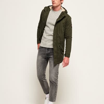 LBASUP3_SUPERDRY_Men's_New_Military_Parka_Khaki_Main