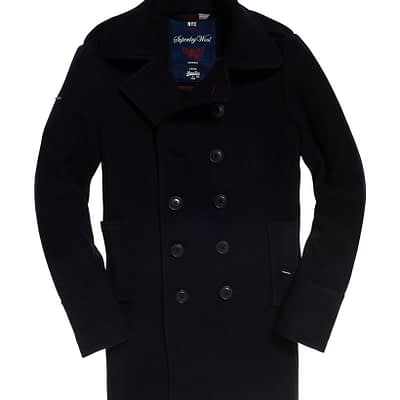 LBASUP16_SUPERDRY_Men's_Classic_Bridge_Coat_Navy_Main